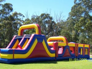 OBSTACLE COURSE 18X4.5 AGES 3 TO ADULTS