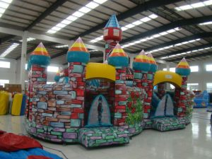 ENCHANTED JUMPING CASTLE 10X8 AGES 3 TO 13