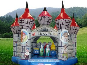 MEDI EVIL 8X8 JUMPING CASTLE AGES 2 TO 12