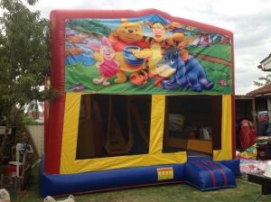 WINNIE THE POO V2 5IN 1 COMBO 5X5M JUMPING CASTLE HIRE SYDNEY