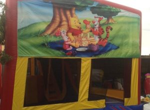 WINNIE THE POO V1 5IN 1 COMBO 5X5M JUMPING CASTLE HIRE SYDNEY