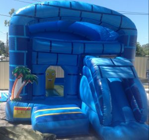 DEEP BLUE SEA 3X3.5 JUMPING CASTLE AGES 3 TO 12