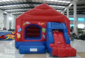 PARTY COMBO 5X4.5 JUMPING CASTLE COMBO WITH SLIDE AGES 3 TO 12
