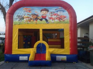 PAW PATROL 5IN 1 COMBO 5X5M JUMPING CASTLE HIRE SYDNEY